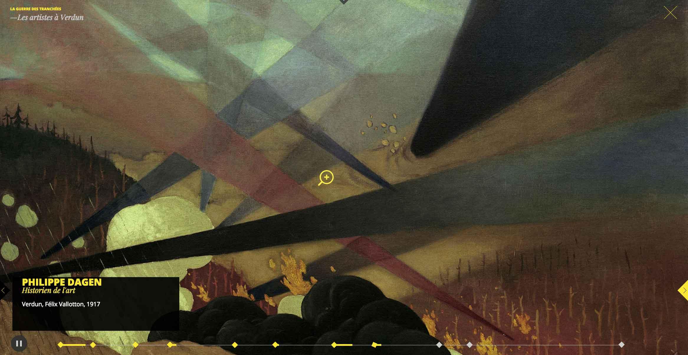 14-18 – La Grande Guerre à travers les arts