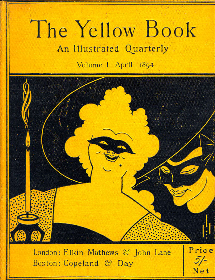 1894-The-Yellow-Book-Vol.I-couverture