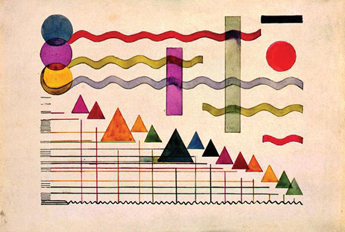 miroslav-ponc-esquisse-pour-la-musique-d-un-film-colore-1925