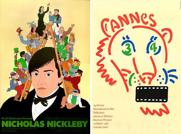 seymour-chwast-affiches-cannes-nicholas-nickleby