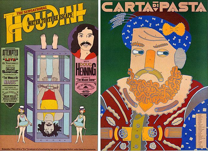 seymour-chwast-affiches-houdini-carta-di-pasta