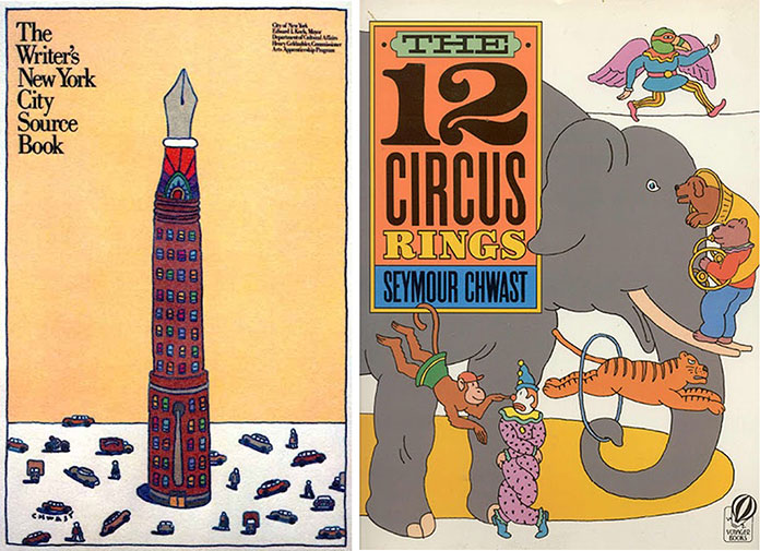 seymour-chwast-the-twelve-circus-rings-writers-NY-city-source-book