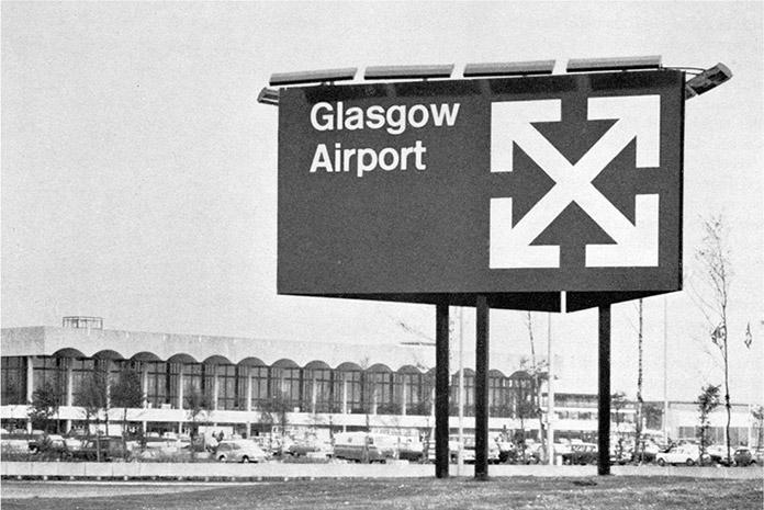margaret-calvert-aeroport-glasgow