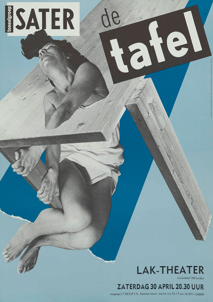 wild-plakken-affiche-De-tafel-1983