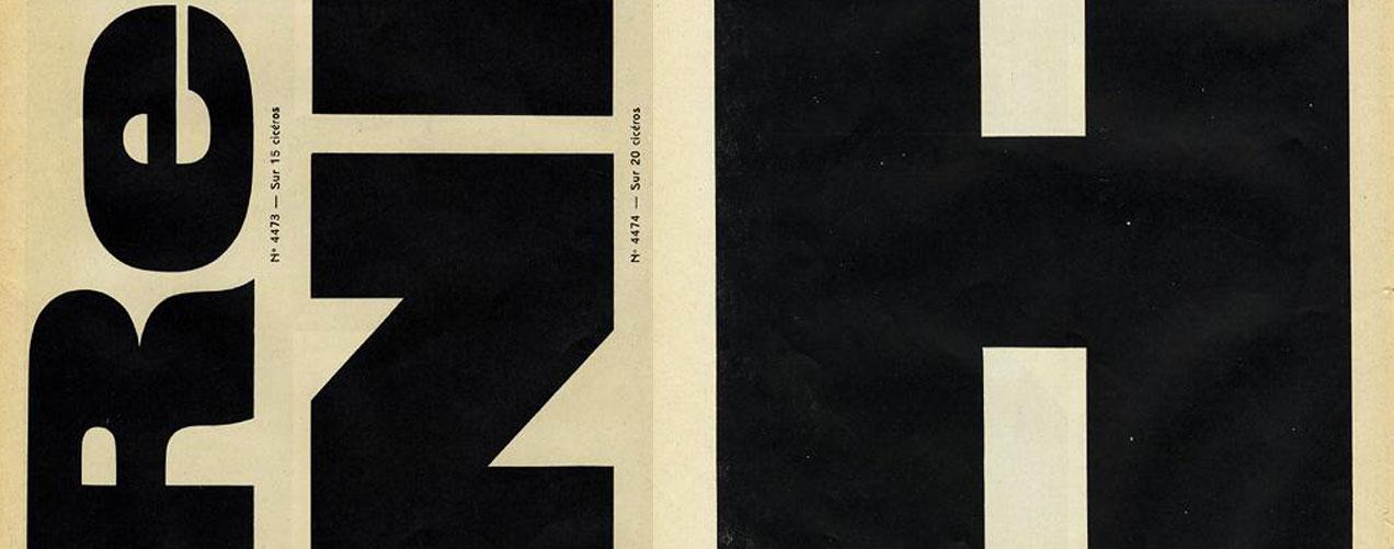 Corpus typographique français – Matthieu Cortat