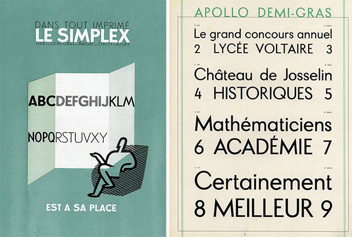 fonderie-olive-simplexe-et-Apollo-de-la-Fonderie-typographique-francaise-copie-futura-paul-renner
