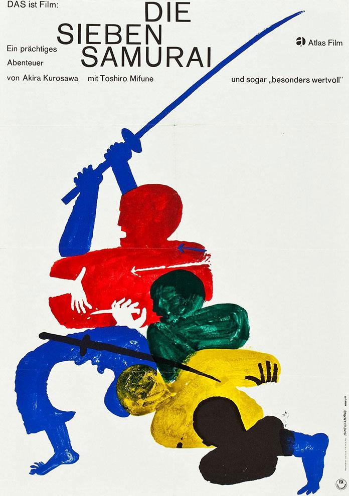 hans-hillmann-affiche-seven-samurai-1955