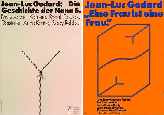hans-hillmann-affiches-godard-une-Femme-est-une-Femme-1970-vivre-sa-vie-1962