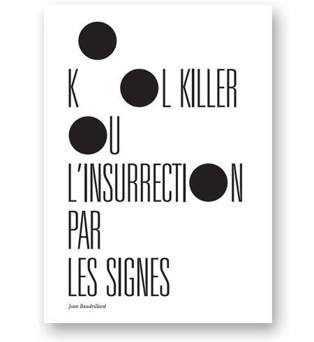 kool-killer-ou-l-insurrection-par-les-signes-jean-baudrillard-bibliotheque-index-grafik