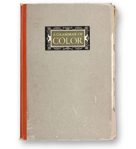 A-Grammar-of-Color-Thomas-Maitland-Cleland-1921-bibliotheque-index-grafik