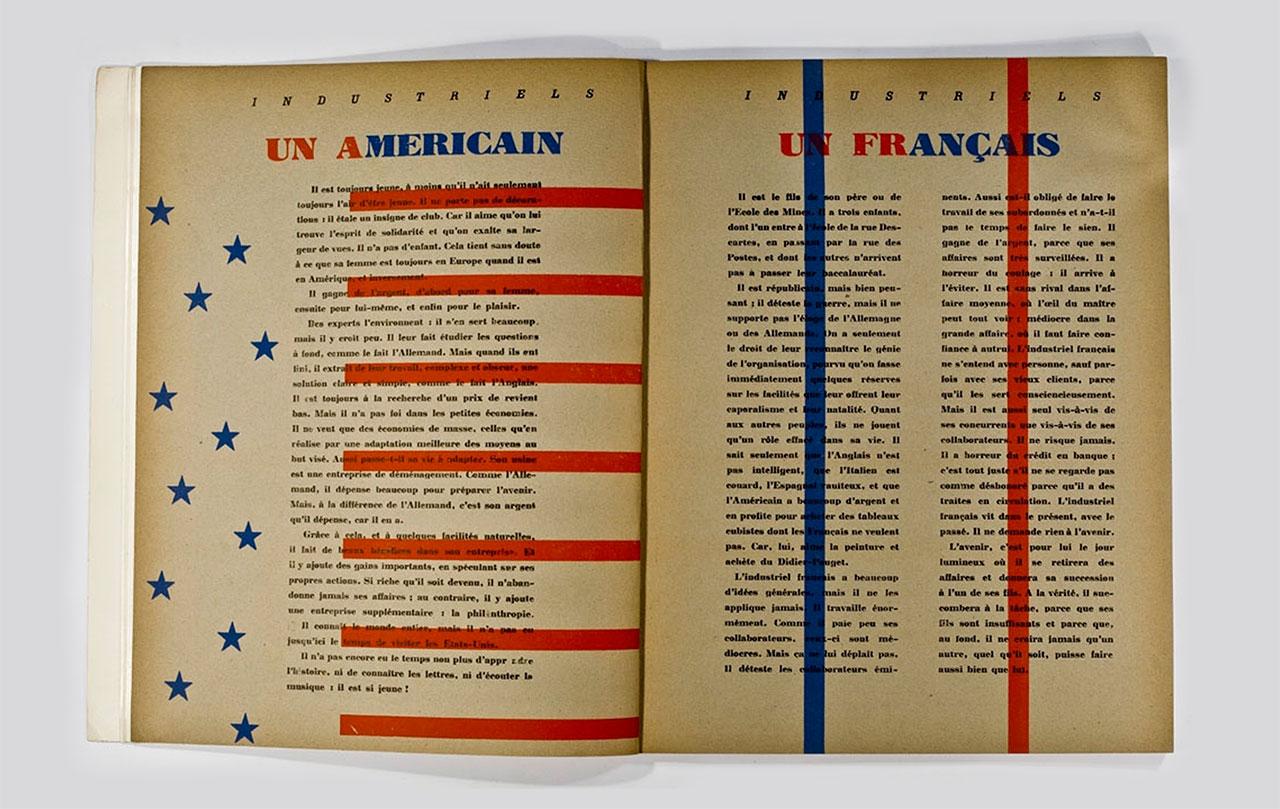 Un anglais, un americain, un francais