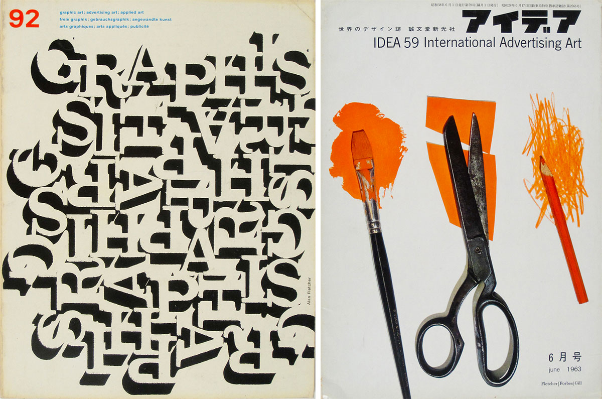 Alan-Fletcher-graphis-92-1960-idea-magazine-59-1963