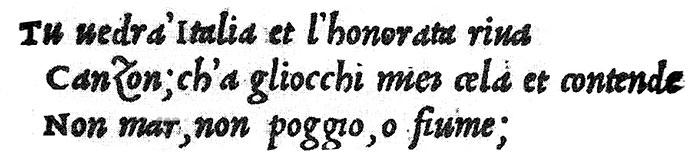 Alde Manuce apostrophe 1501