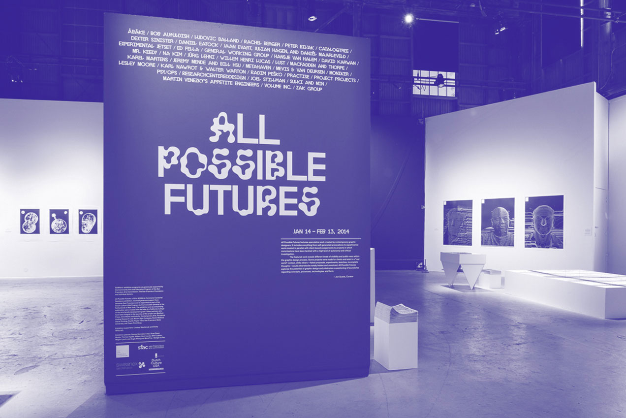 All Possible Futures – Experimental Jetset on Speculative Graphic Design