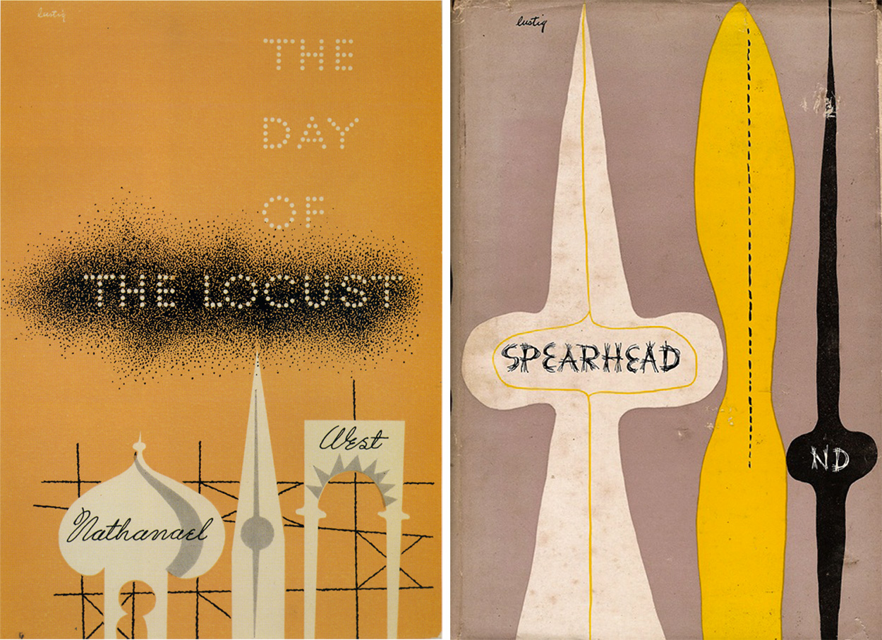Alvin-Lustig-couvertures-the-day-of-the-locust-spearhead
