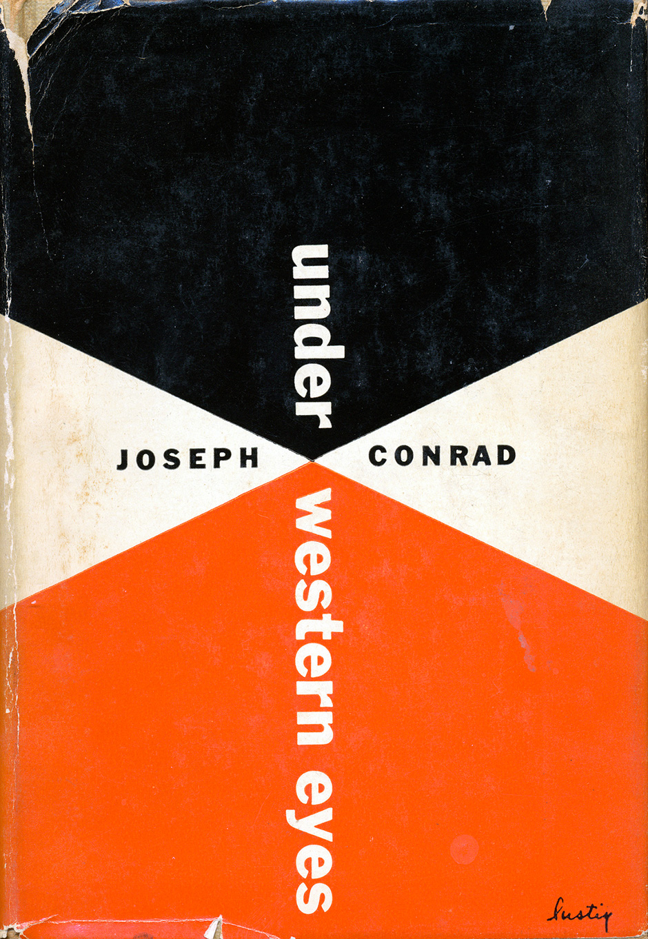 Alvin-Lustig-couvertures-under-western-eyes-conrad