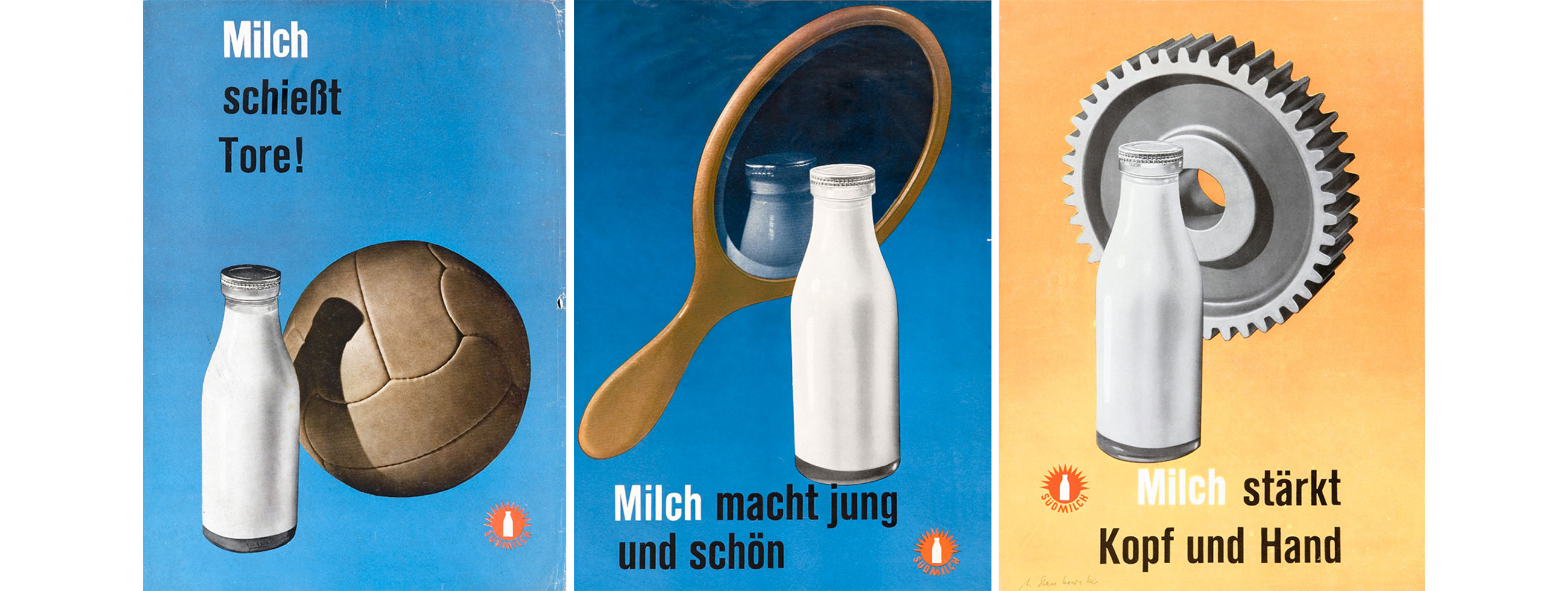 Anton-Stankowski-affiches-lait-milch-milk