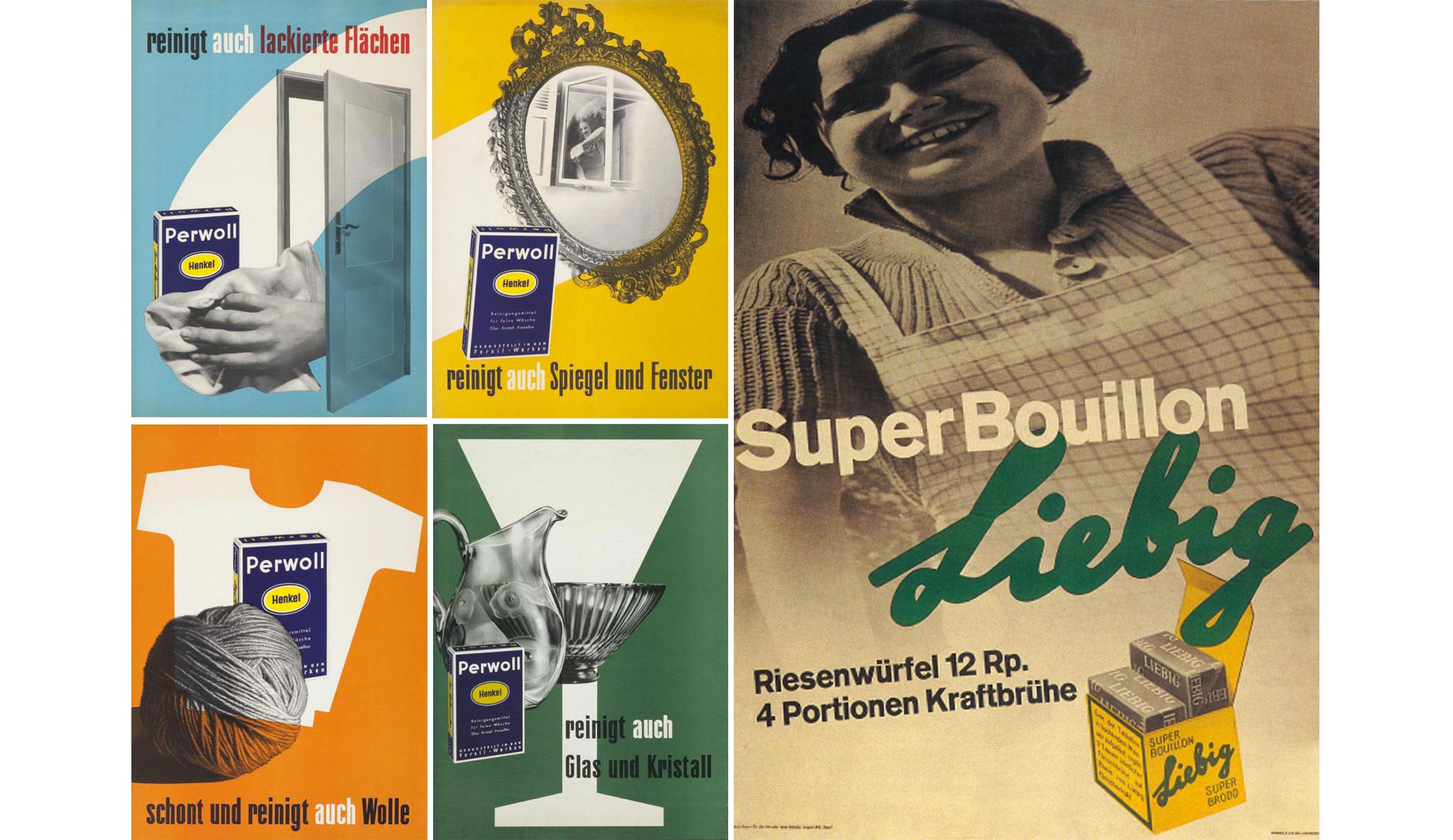 Anton-Stankowski-affiches-liebig-super-bouillon-1934-perwoll