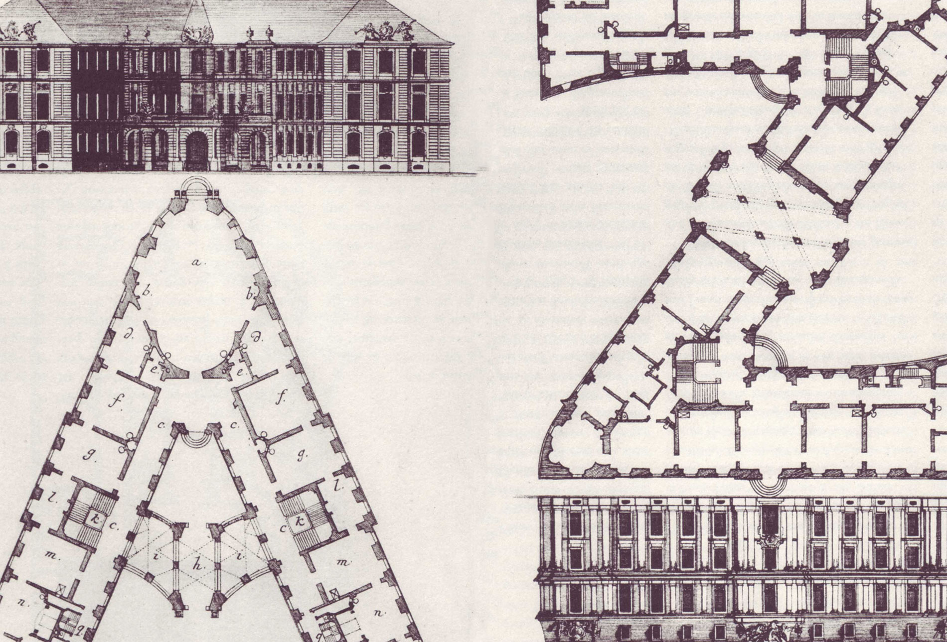 Alphabet architectonique – Johann David Steingruber, 1773