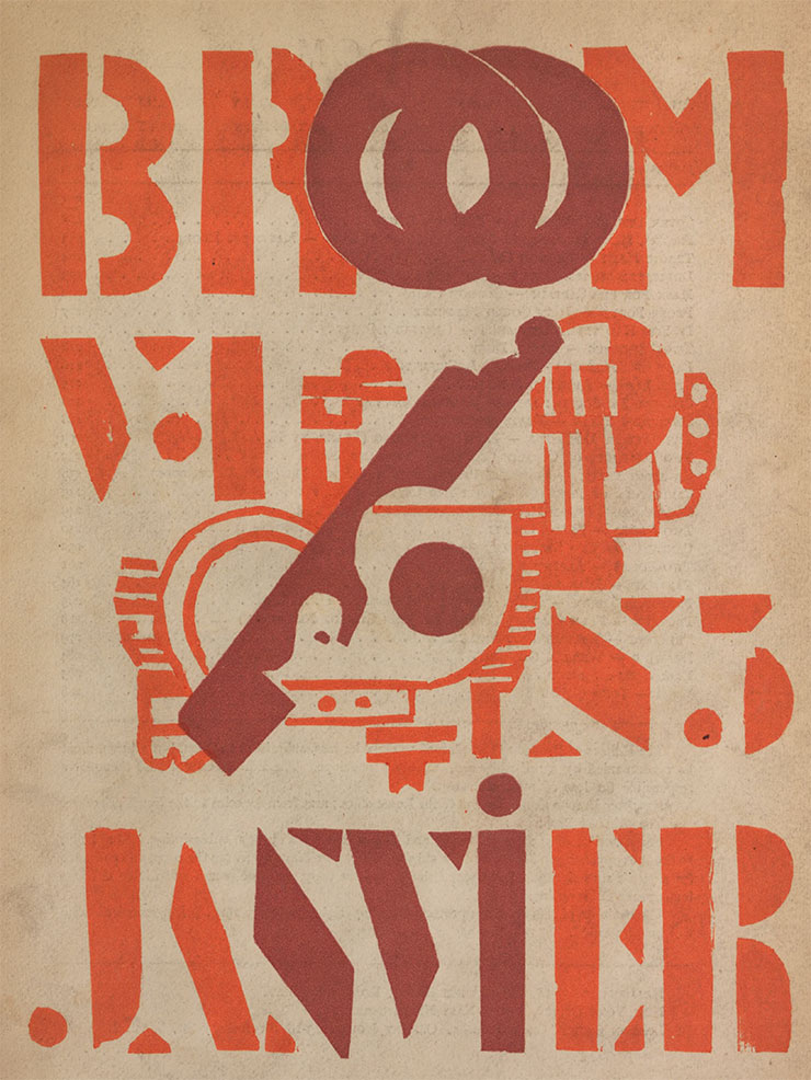 Broom-An-International-Magazine-of-the-Arts-1922-couverture-Fernand-Leger