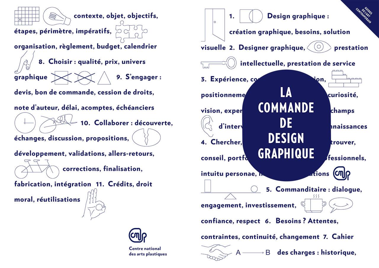 Le guide de la commande de design graphique