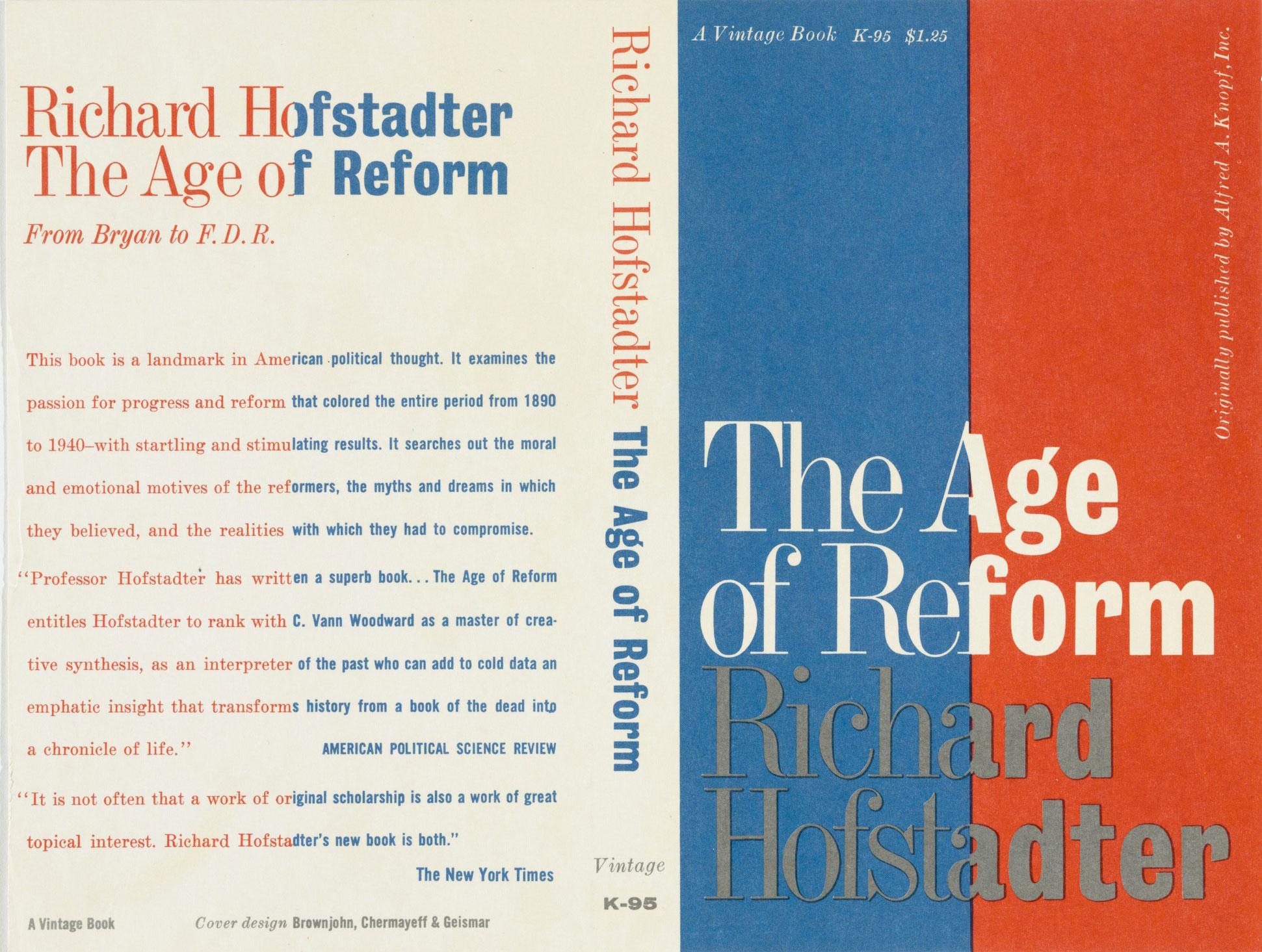 Chermayeff-and-Geismar-couverture-livre-The-Age-of-Reform-1955