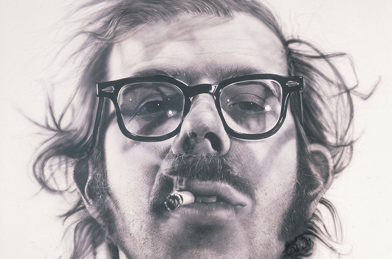 Chuck Close – Big Self-Portrait (1967–1968)