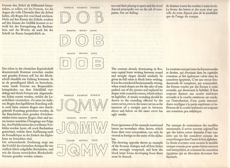 Die Gezeichnete Schrift - Walter Kach_1