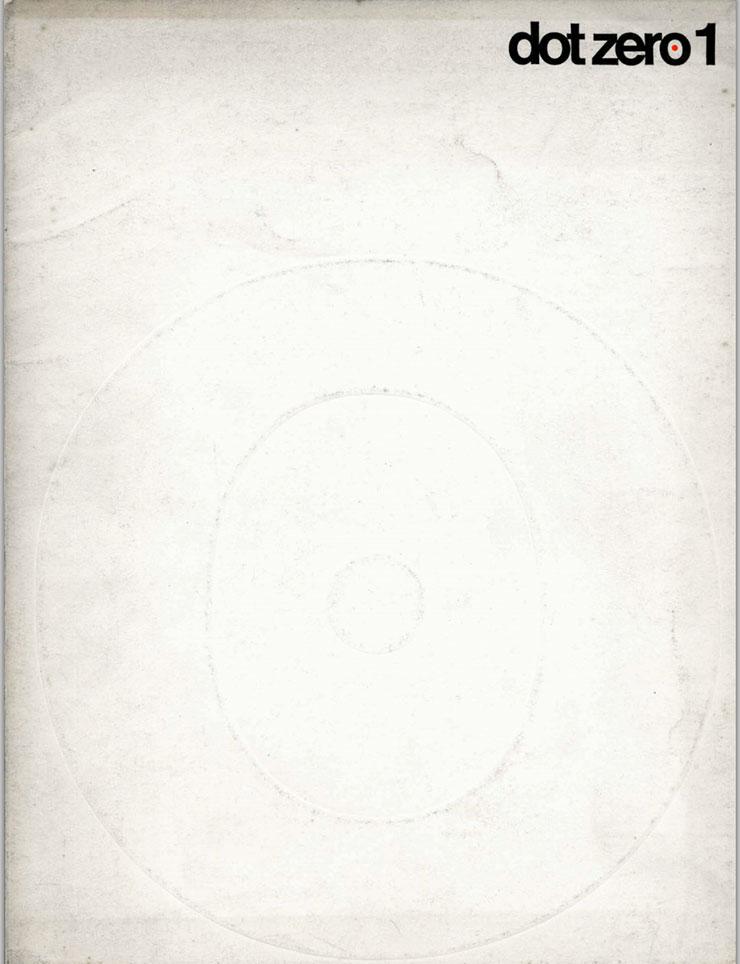 Dot-Zero-numero-1-Magazine-massimo-vignelli-unimark-couverture