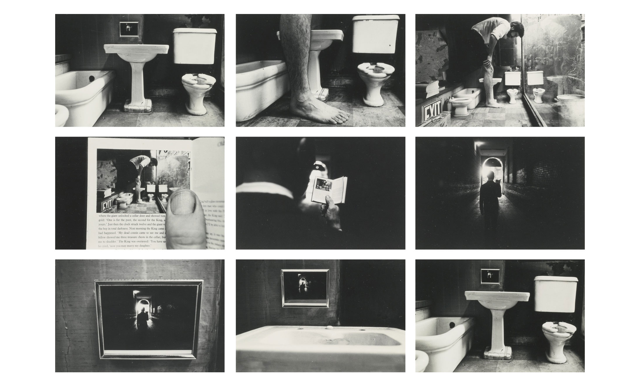 Duane-Michals-Things-are-Queer-Les-choses-sont-bizarres-1973-sequence-photo