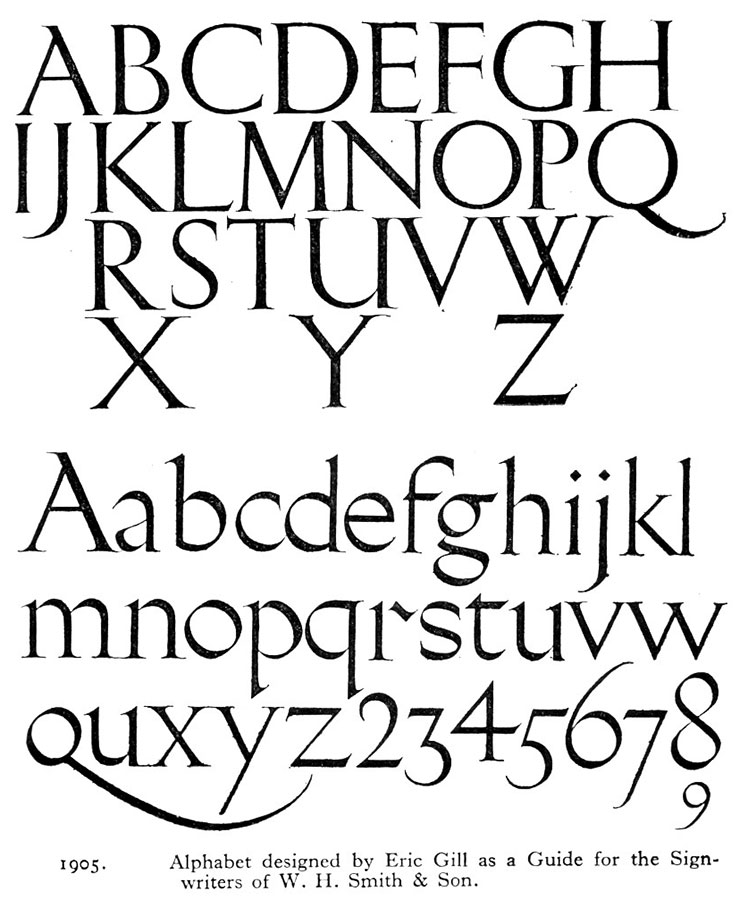 Eric-Gill-WH-Smith-lettering-1905