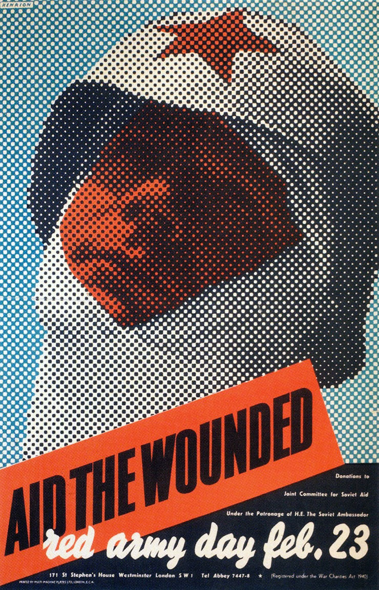 Frederic-Henri-Kay-Henrion-Aid-the-wounded-The-Red-Army-day-1942