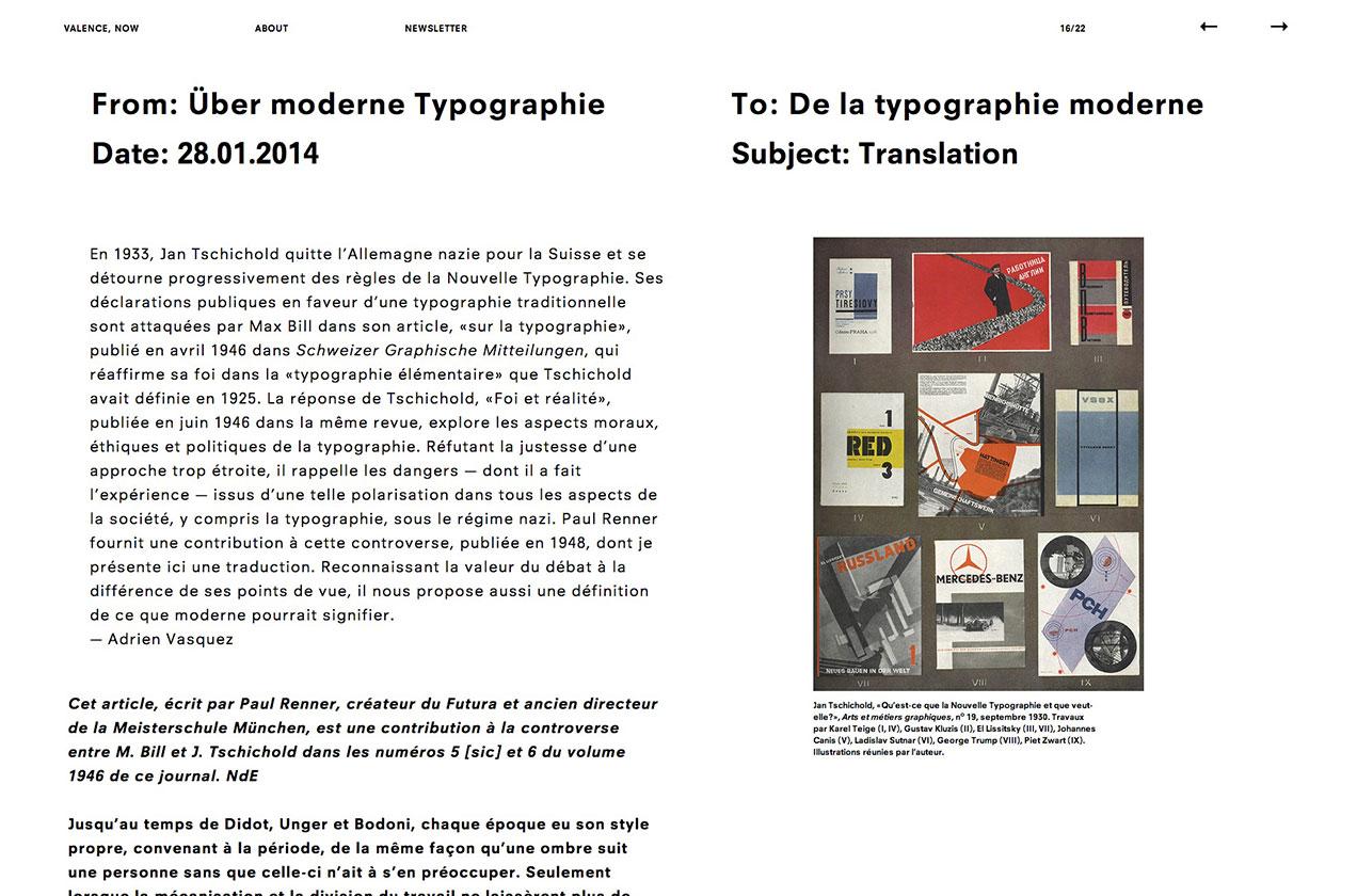 Paul Renner – Über moderne Typographie