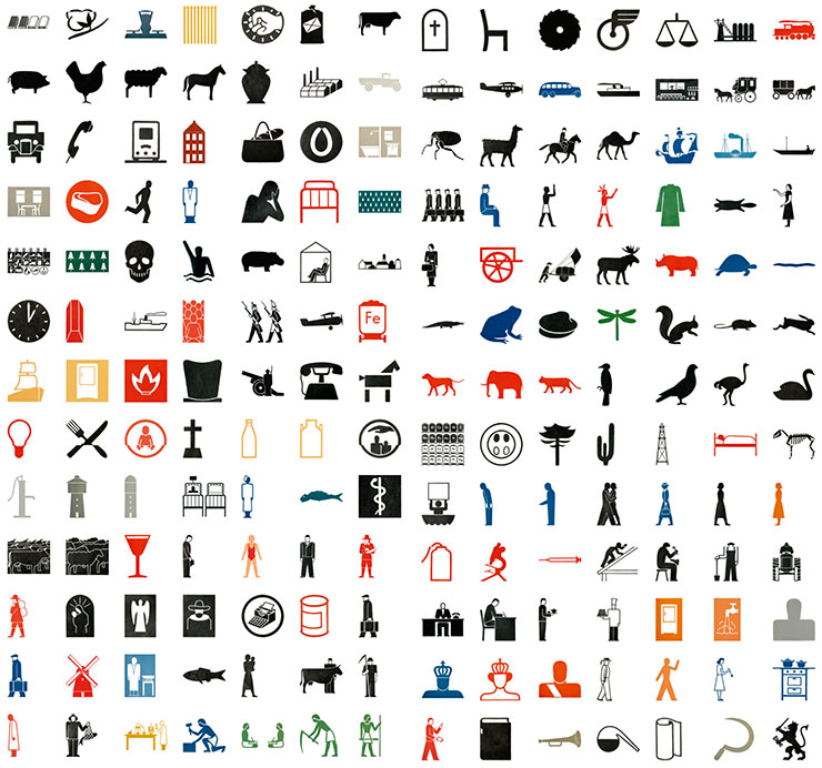 Gerd-Arntz-isotype-collection