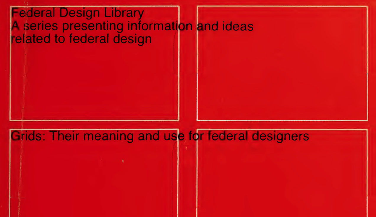 Grids – their meaning and use for federal designers – Massimo Vignelli