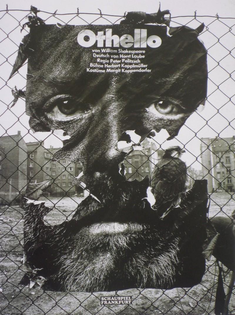 Gunter-Rambow-Othello-Schauspiel-Frankfurt affiche
