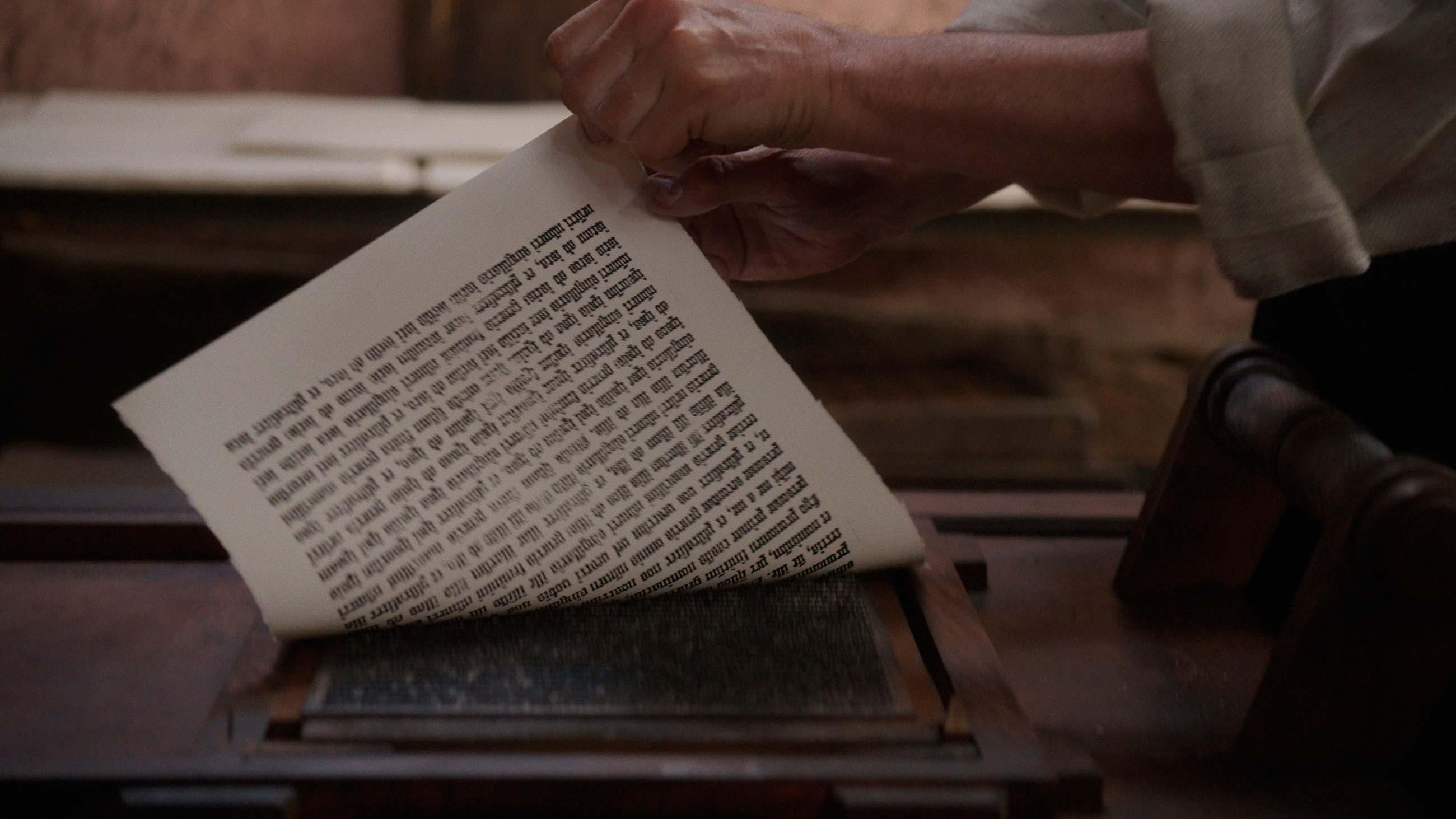 Gutenberg – l'aventure de l'imprimerie