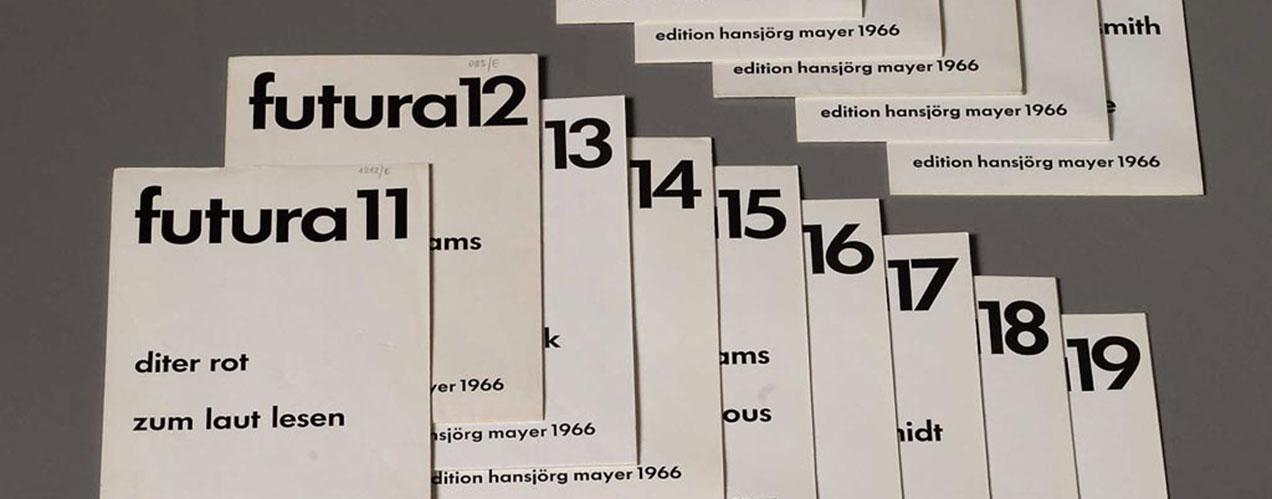 Hansjörg Mayer – Revue Futura 1956-1968
