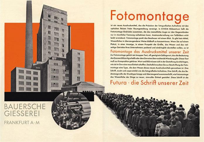 Heinrich Jost Fur Fotomontage Futura Gebrauchsgraphik magazine 1929