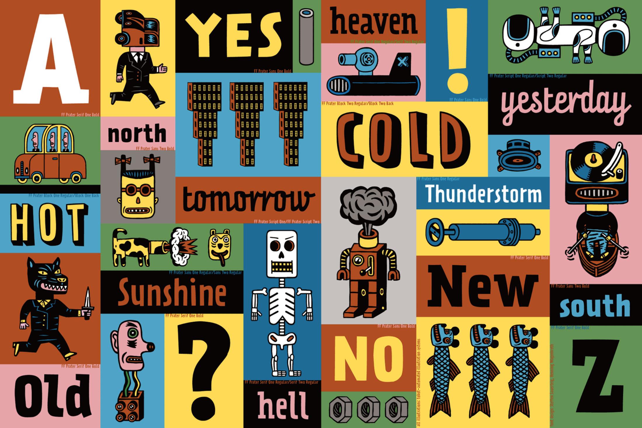 Henning-Wagenbreth-DE-graphisme-illustration-portrait-index-grafik-typographie-caractere-FF-Prater