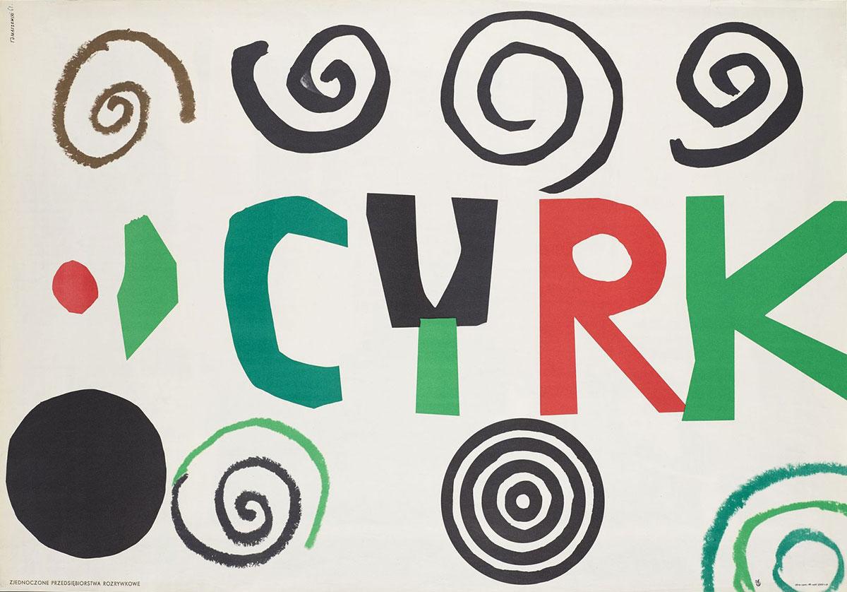 Henryk-Tomaszewski-affiche-cyrk-1963