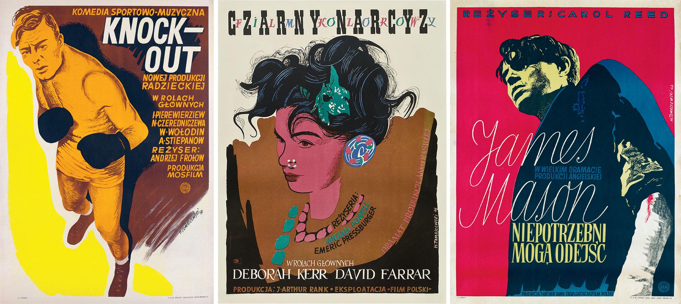 Henryk-Tomaszewski-affiche-films-1947-1948