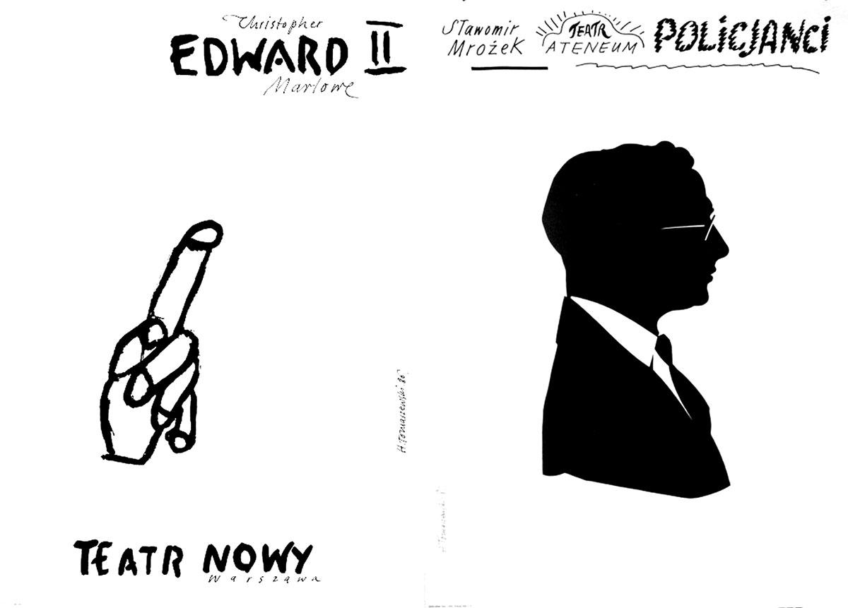 Henryk-Tomaszewski-affiches-edward-2-policjanci