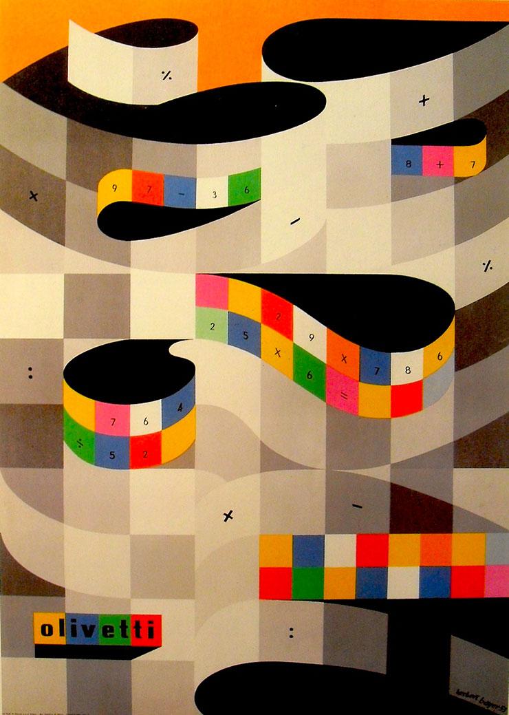 Herbert-Bayer-affiche-Olivetti-1959