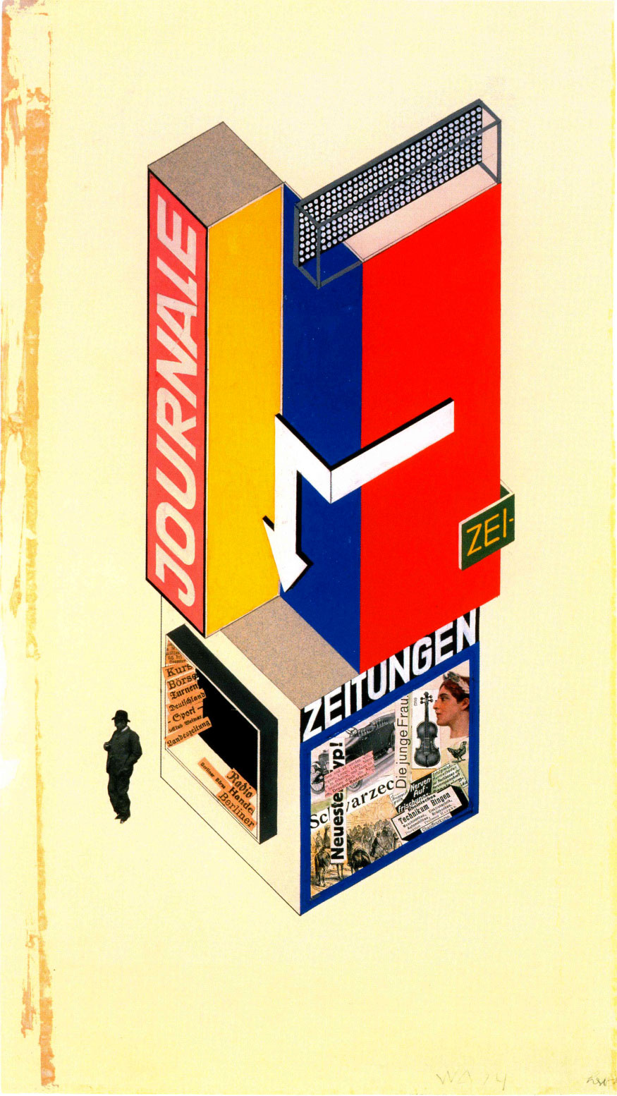 Herbert-Bayer-design-kiosque-a-journaux-1924