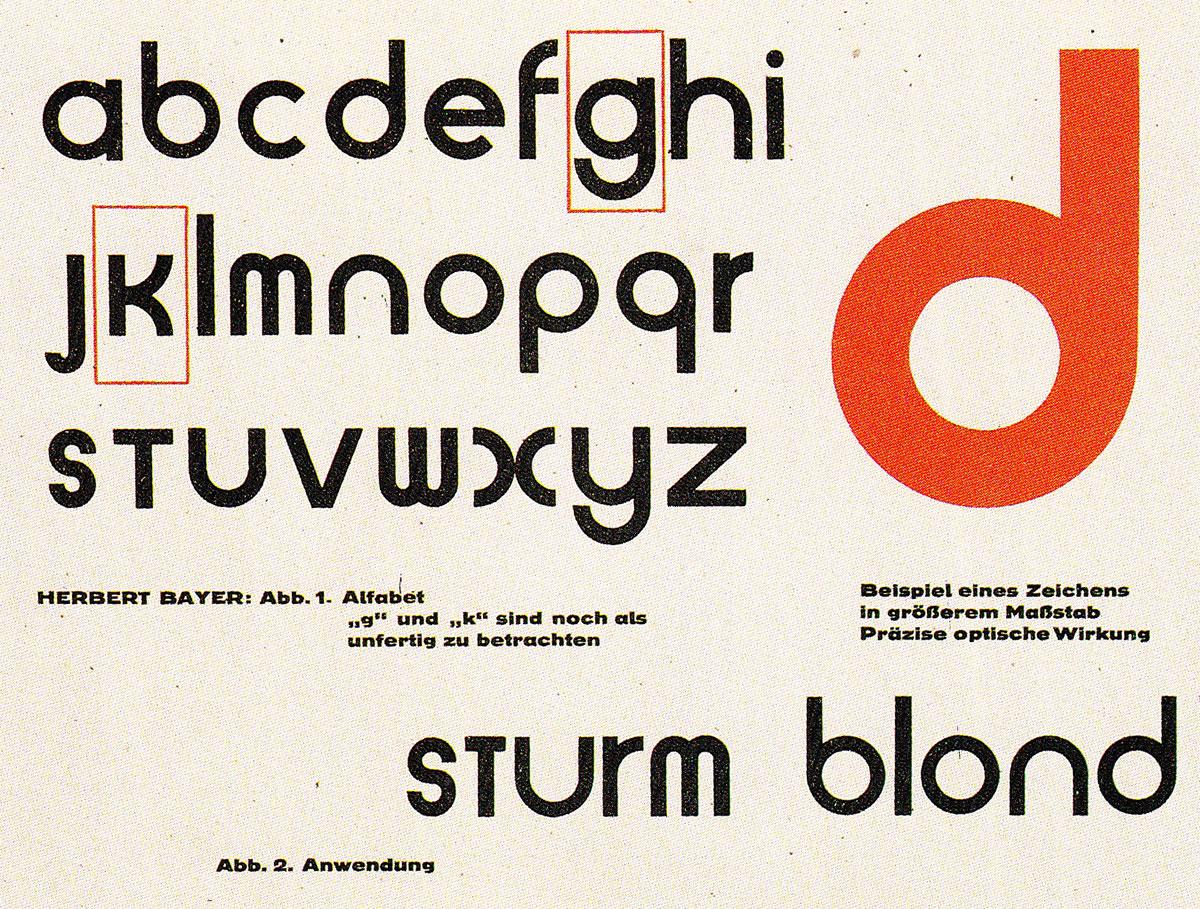 Herbert-Bayer-universal-alphabet