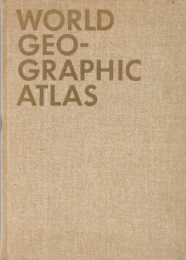 Herbert-Bayer-world-geographic-atlas-book-1953