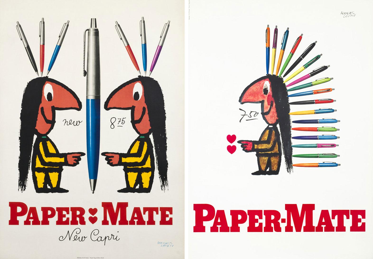 Herbert-Leupin-graphiste-CH-affiches-paper-mate