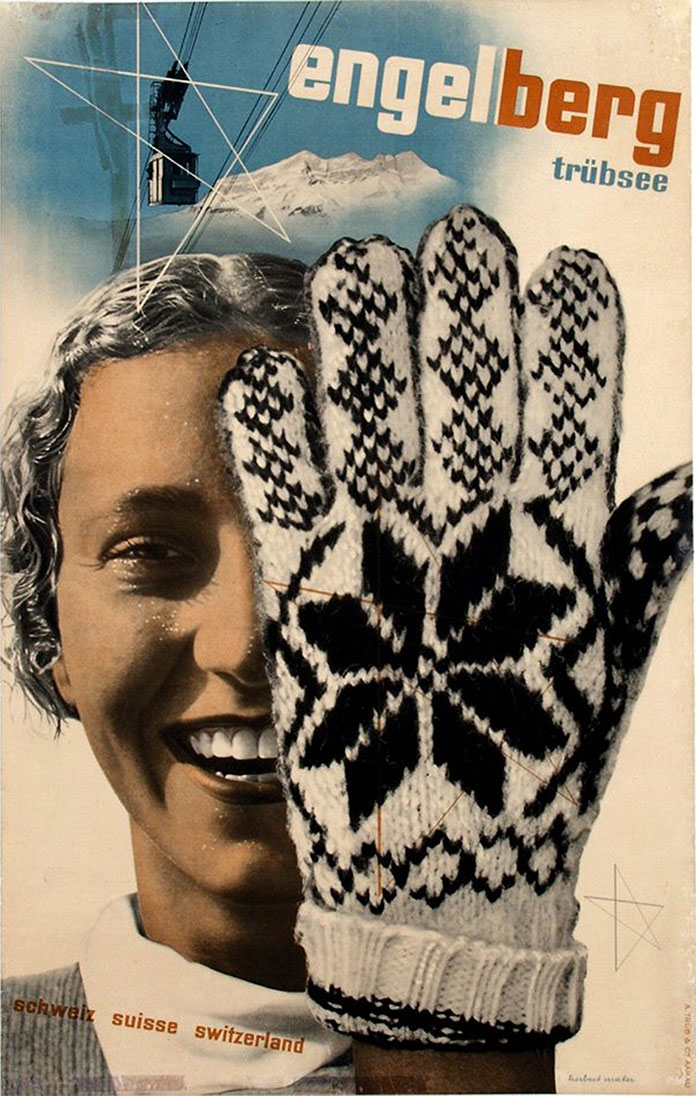 Herbert-Matter-Engelberg-affiche-tourisme-suisse-1934