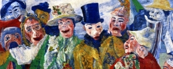 L'Intrigue – James Ensor (1890)